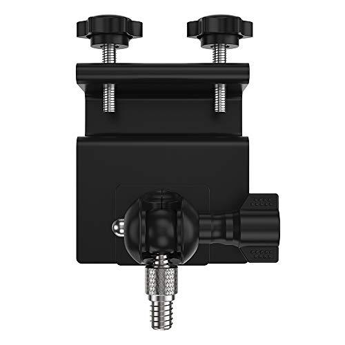 StepWorlf Schwarze, diebstahlsichere Halterung für Dachrinnenmontage, kompatibel mit der Arlo Ultra Arlo HD-Kamera