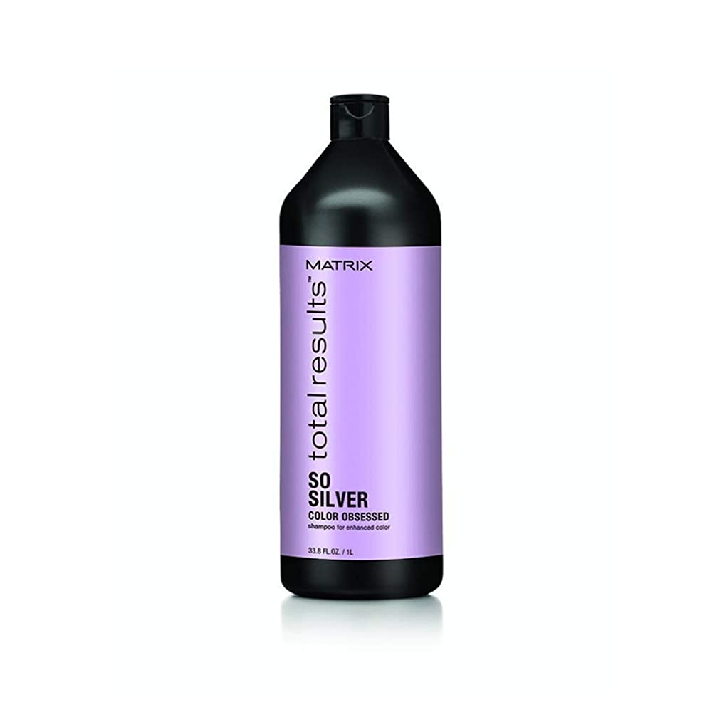 怖がって死ぬ救い上院マトリックス Total Results Color Obsessed So Silver Shampoo (For Enhanced Color) 1000ml/33.8oz並行輸入品