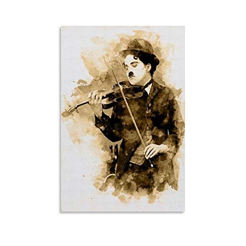 FANFF Barock-Geigen-Poster, dekoratives Gemälde, Leinwand, Wandkunst, Wohnzimmer, Poster, Schlafzimmer, Malerei, 20 x 30 cm