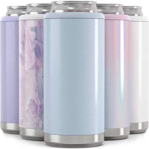 Maars Skinny Can Cooler for Slim Beer & Hard Seltzer | Stainless Steel 12oz Koozy Sleeve, Double...