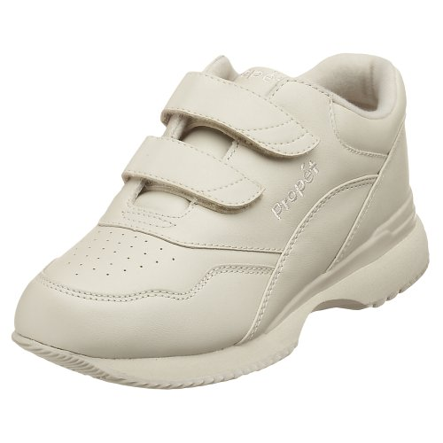 Propet Women's Tour Walker Strap Sneaker,Sport White,8.5 W (US Women's 8.5 D)