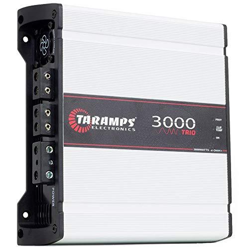 TARAMPS 3000W 4 OHM Trio CAR AMP