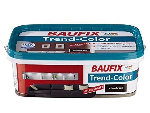 Baufix Trend Color Schokobraun 2,5L perfekt Deckend
