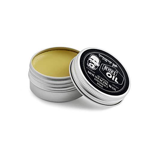 Beyer's Oil Moustache Wax Eisenkraut 15 ml - Bartwichse - Handgemacht in Bayern - 100{ca04d6a184404d1ed38b481a90ae53439c086f0b3c627aab3fc991ebeed3f5a5} natürlich - Mit Bienenwachs aus dem Chiemgau - Formt den Oberlippenbart zu einem perfekten Schnauzbart