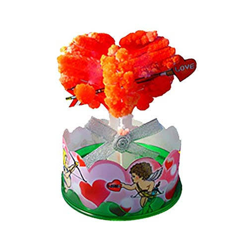 jieGorge Paper Tree Magic Growing Tree Toy Boys Girls Novelty Xmas Gifts 20ml, Home Decor for Christmas Day (OR)