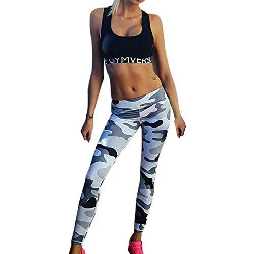 Manadlian Femme Pantalon Legging Long Pantalon Tenue de Sport Vêtement Femme Femme Pantalon de Yoga