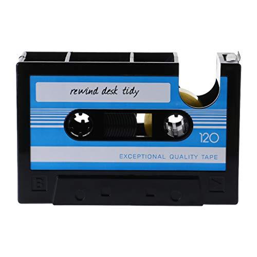 S-TROUBLE Cassette Motif Stylo Crayon Porte-Pot Conteneur Organisateur Papeterie Cadeau