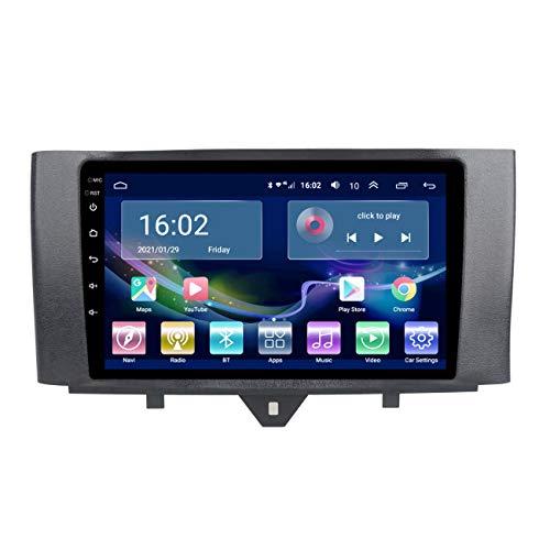 Navegación GPS para coche, Radio de coche Android 10 para Mercedes Benz Smart 2011-2015, con cámara de marcha atrás, compatible con Control de volante Original,4g+wifi 2g+32g