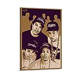FUSHANG Eazy E And Ice Cube Hip Hop Rap Sänger Poster