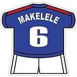 マケレレ(フランス代表 6) ユニフォーム型ステッカー