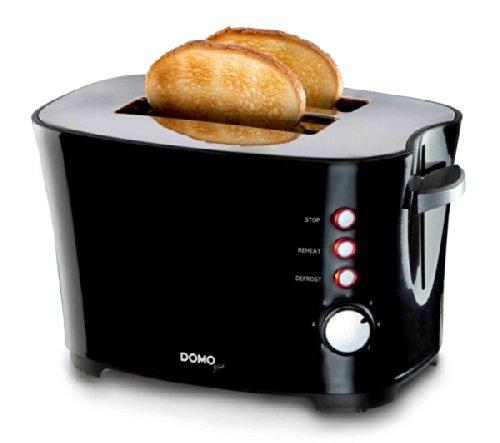 Domo Toaster DO941T schwarz one size