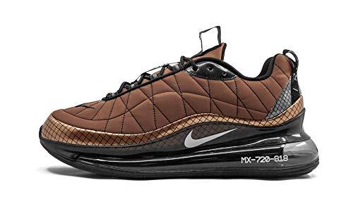 Nike MX-720-818, Zapatillas para Correr Hombre, Metallic Copper White Black Anthracite, 41 EU