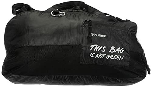 hummel hmlPRO XK Sports Bag, Borsa Sportiva. Unisex-Adulto, Caviar/Marshmallow, Taglia Unica