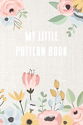 Great Deal! My little pattern book: blank notebook for your own embroidery and punch needle patterns...