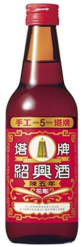 宝酒造 タカラ 塔牌 紹興花彫酒 陳五年 360X12