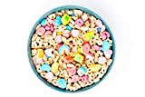 Charmed Cereal Blanket | Lucky Charms Throw | Novelty Food Blanket 60 Inches | Cereal Blanket is Way Sweeter Than Donut Blanket, Pizza Blanket, Cookie Blanket or Burrito Blanket!