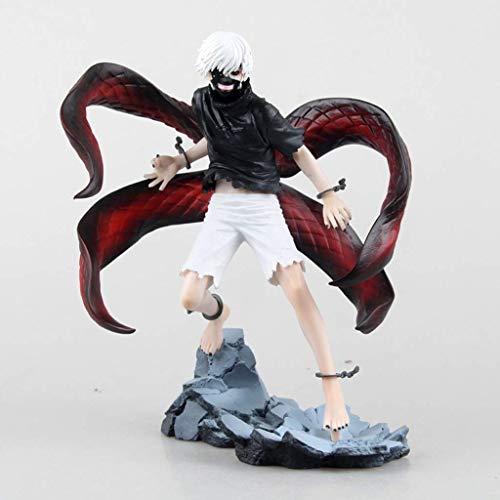 JIALI Anime Boutique Modelo Toys Tokyo Ghoul Centipede Despertando Carácter Estatua Decoración/Regalos/Colección/Artesanía/Navidad Rojo Negro 2 Opcional (Color: Negro)