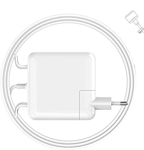 Zasunky Cargador Mac Pro 45W Adaptador de Corriente Mags 2 Cargador Conector Magnético T-Tip para A1436 A1425 A1435 A1466 Mac Pro 13 Retina [Fin 2012, 2013 2014, comienzo 2015]