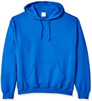 Gildan Mens Fleece Hooded Sweatshirt, Style G18500 Hooded Sweatshirt