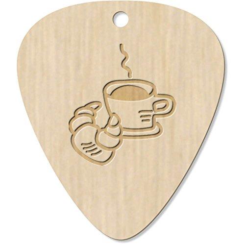 Azeeda 7 x 'Kaffee und Croissant' Plektrum / Picks (GP00015103)