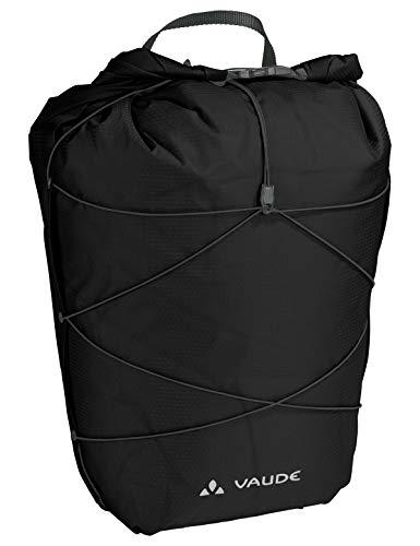 VAUDE Hinterradtaschen Aqua Back Light, Ultraleichte Hinterradtasche zum Radfahren, black, one Size, 129520100