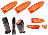 10 Pack - TRT Tap Rack Dry Fire Safety Training Aid 9MM/.40 Cal Pistol Magazine Dummy Ammo