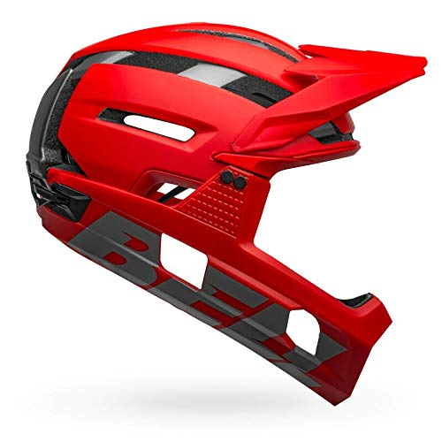 BELL Super Air, Casco Uomo, Matte Gloss Red Gray, M