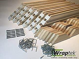 Wraptek- Canvas Stretcher Bars Frame 24 Bar Wholesale Cases (16