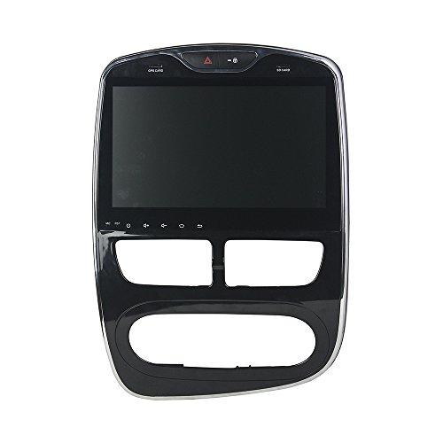 Kunfine Android 9.0 Octa Core lettore DVD multimediale di navigazione GPS Car stereo per Renault Clio 2016 digitale/analogico autoradio controllo del volante con 3 G WiFi Bluetooth libero SD mappa