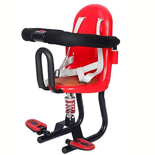 Wanjia Elektroauto Kindersitz, Kindersitzzaun mit Sicherheit, Baby-Fahrradsitz Roller Fahrräder für Kinder 1 bis 7 Jahre Klapprad, Kombi,A