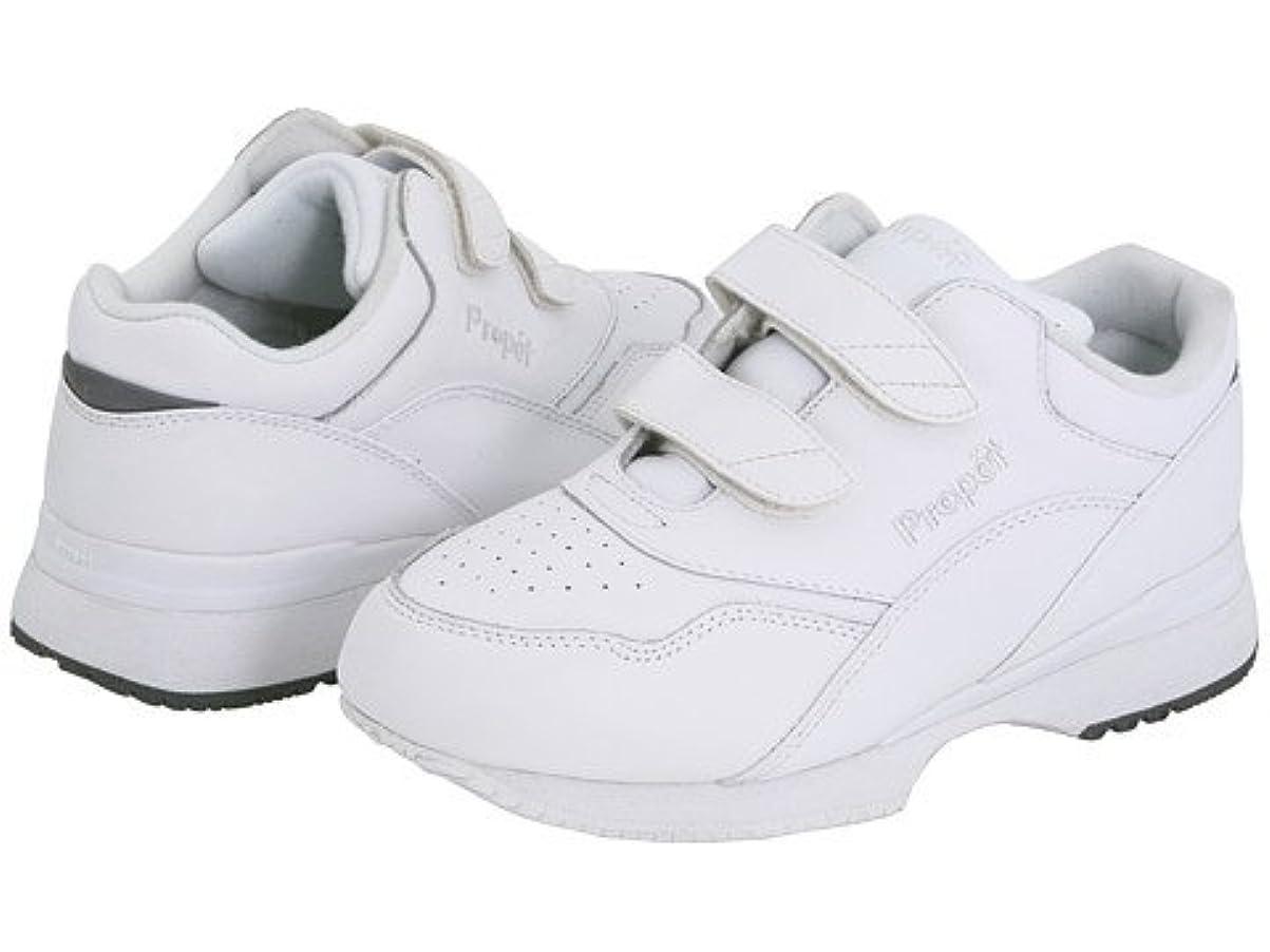 タイマー告白習熟度(プロペット) Propet レディースウォーキングシューズ?カジュアルスニーカー?靴 Tour Walker Medicare/HCPCS Code = A5500 Diabetic Shoe White 10.5 27.5cm X (2E) [並行輸入品]