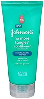 Johnson's No More Tangles Conditioner 6.8 Ounces (Value Pack of 2)