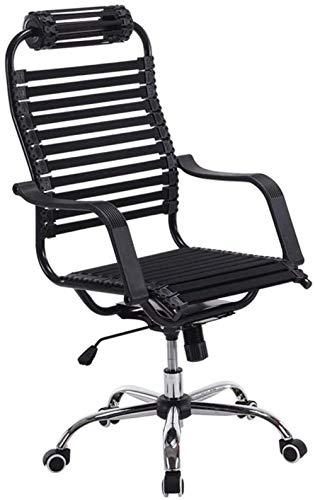 Silla de Oficina Las sillas de escritorio, silla de la computadora silla ergonómica silla de la oficina del juego de alta Volver transpirable estiramiento de la goma del amortiguador de Gaza