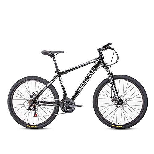 26 pouces 21 vitesses vélo de montagne vélo adulte étudiant en plein air sport cyclisme vélos de route vélos d'exercice suspension complète vtt engrenages double freins à disque vélo de montagne e