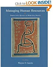 Managing Human Resources: Productivity, Quality of Work Life, Profits (5th Edition)