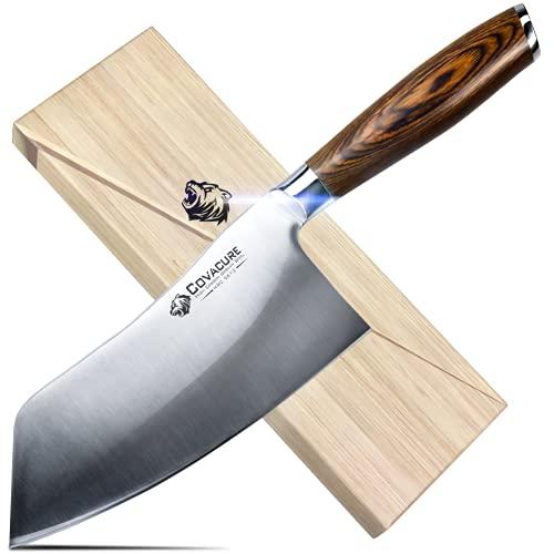 COVACURE Küchenmesser Kochmesser 18 cm...