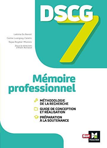 DSCG 7 - Mémoire professionnel - Manuel (LMD collection