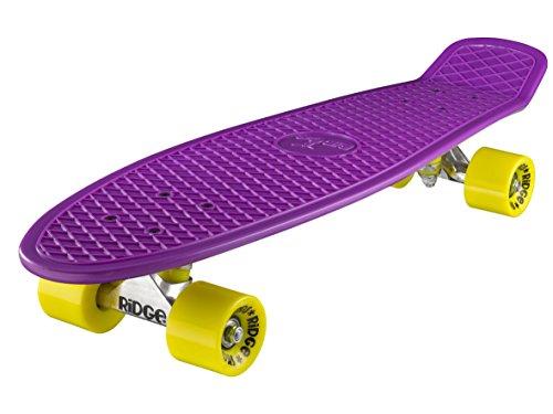 Ridge - Skateboard Big Brother Nickel Mini Skate Cruiser Viola...