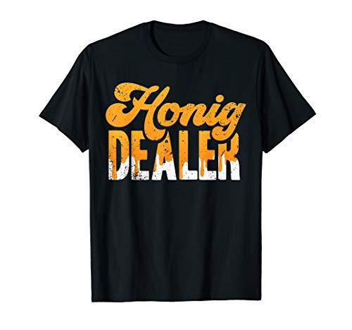 HONIG DEALER | Lustiges Imker Bienenzucht Imkerei Bienen Fan T-Shirt