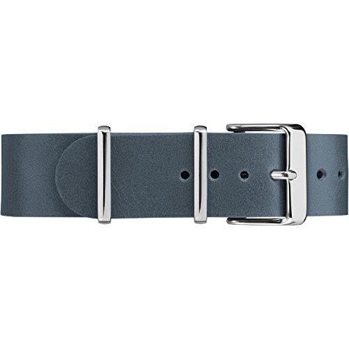 Timex TW7C10800 - Cinturino in pelle a doppio strato, 20 mm, colore: Blu
