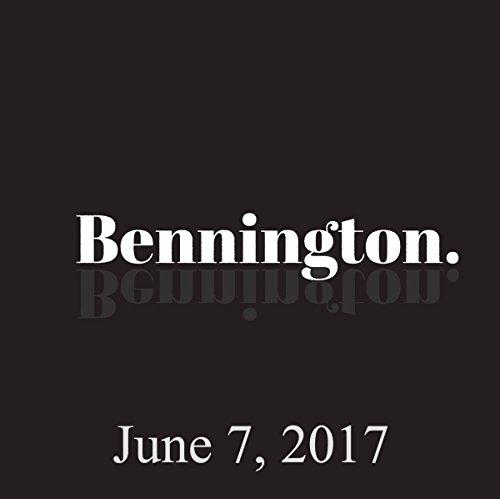 Bennington, Bill Burr, June 7, 2017 audiobook cover art