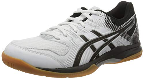 Asics Gel-Rocket 9, Indoor Court Shoe Womens, Blanco White 100, 38 EU