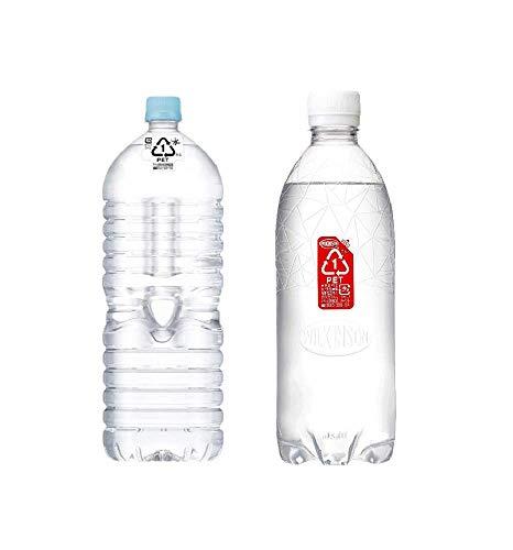 【セット買い】#like アサヒ おいしい水 天然水 ラベルレスボトル 2L×9本 + MS+B アサヒ飲料 ウィルキンソン 炭酸水 ラベルレスボトル 500ml ×24本