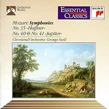 Mozart: Symphonies Nos. 35, 40 & 41 Essential Classics