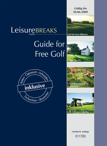 Guide for Free Golf: Gültig bis 30.06.2009