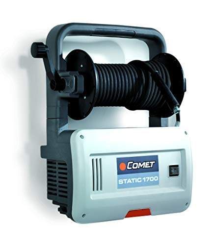 Comet Industrial 9052.0007.00 Cold Water Pressure Washer-2.2 GPM, 1300 PSI, Wall Mountable, White