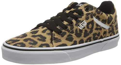 Vans Damen Seldan Sneaker, Cheetah Black White, 40.5 EU