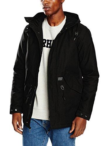 Carhartt Clash Parka Blouson, Noir (Black), XL Homme