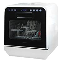 iimono117 食器洗い乾燥機 2段式 ホワイト EX 取り付け 工事不要 タンク式 食洗器 食洗機 上部給水 選べる 5種類 洗浄コース 節水 時短