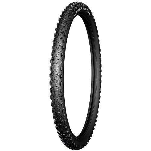 Michelin Country Grip'R - Cubierta de Bicicleta, Color Negro